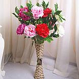 Напольная плетеная ваза из роганта, фото 4