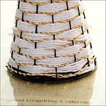 Напольная плетеная ваза из роганта, фото 5