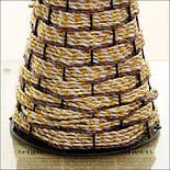 Напольная плетеная ваза из роганта, фото 8