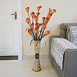 Напольная плетеная ваза из роганта, фото 9