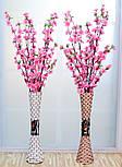 Напольная плетеная ваза из роганта, фото 10