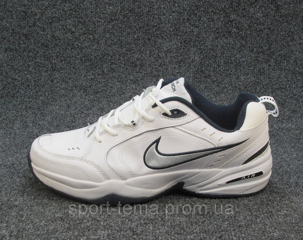 ceb1494e65f3bd Кроссовки Мужские Nike Air Monarch Белые (найк Аир )(р.46) — в ...