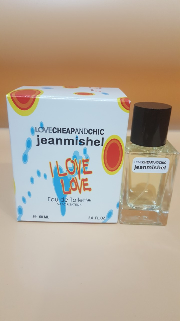 Love cheap and chic Jeanmishel I LOVE LOVE eau de toilette   60 ml