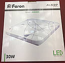 Светодиодный светильник Feron AL537 30W 4000K, фото 2