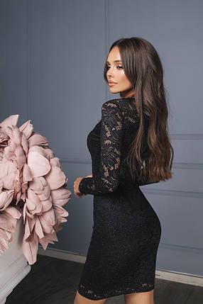 Модное гипюровое платье, фото 2