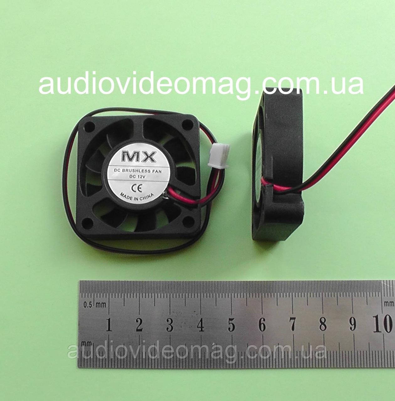 Вентилятор (кулер) 12V, 40х40х10 мм, 2 pin,  компьютерный, для видеокарт