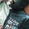 Детские зимние куртки и пальто для девочек с бубонами, фото 3