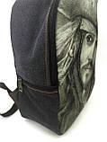 Джинсовый рюкзак Джек, фото 2