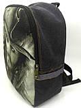 Джинсовый рюкзак Джек, фото 3