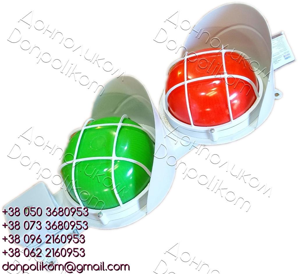 СС2/40LED - светофор светодиодный, двухсекционный