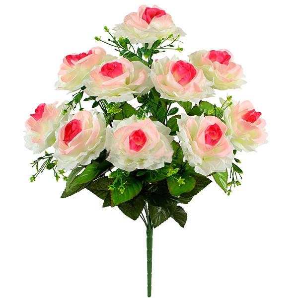 Букет искусственных роз, 54см (10 шт. в уп)
