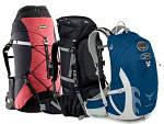Типы туристических рюкзаков