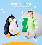 Детский писсуар, унитаз, туалет, горшок Пингвин PENGUIN, фото 9