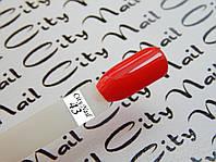 Ярко-красный гель лак CityNail
