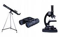 Бинокль + Телескоп + Микроскоп Комплект OPTICON ScienceMaster SE