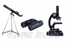 Комплект OPTICON ScienceMaster SE Бінокль + Телескоп + Мікроскоп