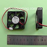 Вентилятор (кулер) 12V 0.16A, 50х50х10 мм, компьютерный, фото 2