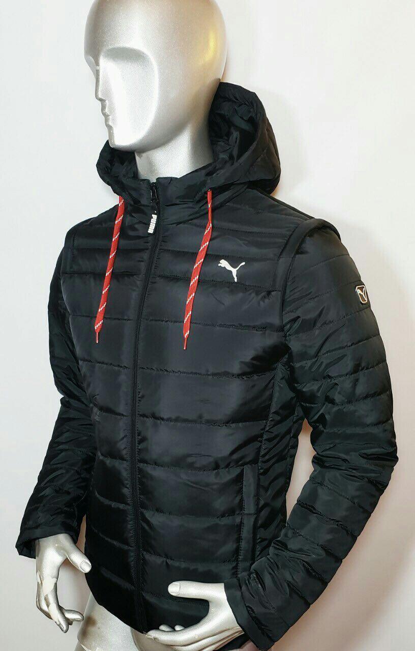 Мужская куртка Puma с отстегивающимися рукавами (трансформер)