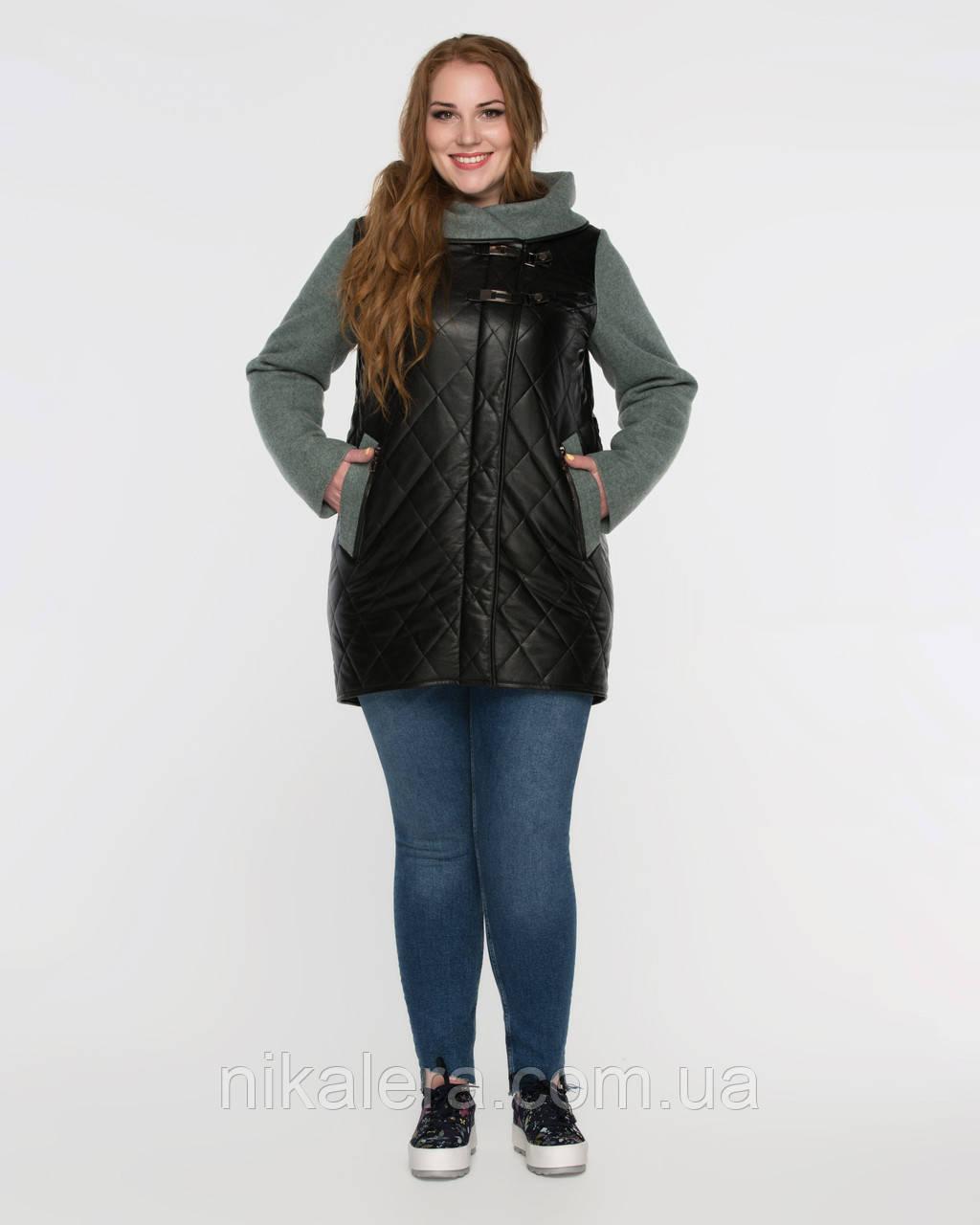 Куртка комбинированная  рр 48-60