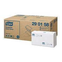 Бумажные листовые полотенца TORK Singlefold сложения ZZ мягкие Universal