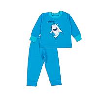 Пижама ясельная для мальчика Фламинго, 80 см