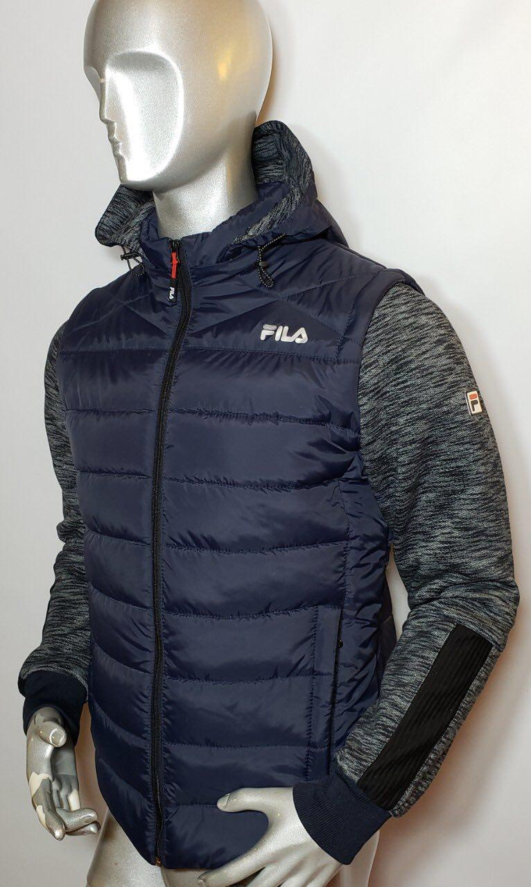 Мужская куртка Fila с отстегивающимися рукавами (трансформер)