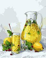 Художественный творческий набор, картина по номерам Лимонад, 40x50 см, «Art Story» (AS0468), фото 1