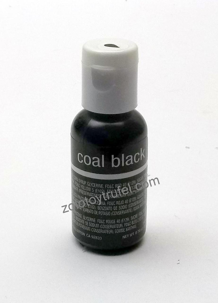"""Краситель гелевый """"Coal Black 20 мл"""",Chefmaster"""