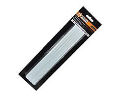 Стержни клеевые прозрачные 11,2 х 200 мм 6 шт Polax 32-007