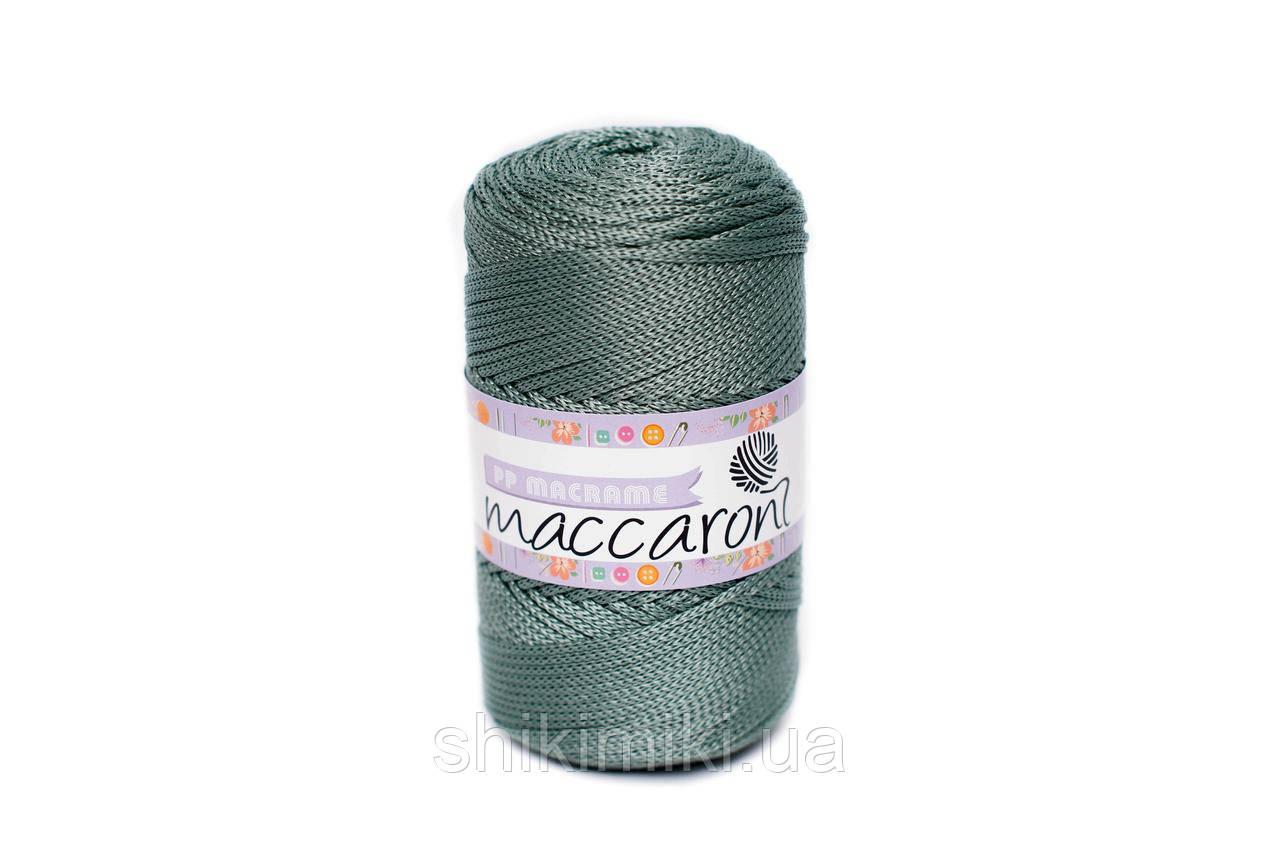 Трикотажный полипропиленовый шнур PP Macrame, цвет Оливковый