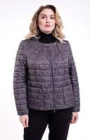 Жіноча куртка з відстібними капюшоном, з 48-64 розмір