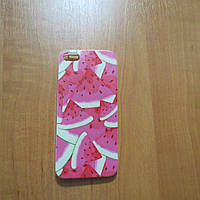 Силиконовый чехол Арбуз для iPhone 5/5s