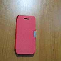 Силиконовый чехол книжка красный брак для iPhone 5/5s