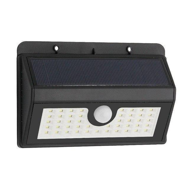 Уличный светильник с датчиком движения Ever Brite Double Light - светильник на солнечной батарее