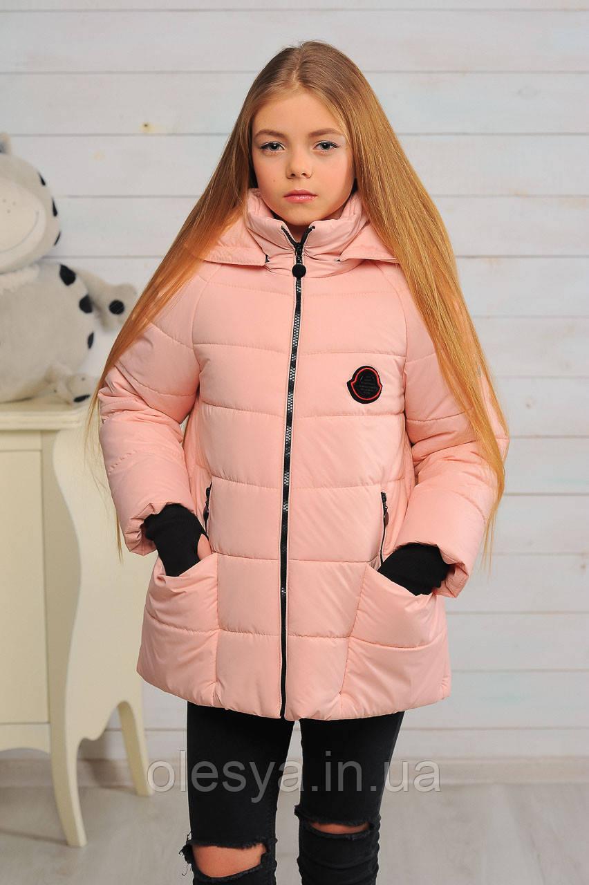 Демисезонная Куртка для девочек Анабель Размеры 34, 36