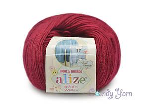 Alize Baby Wool, Вишня №390