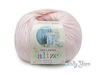 Alize Baby Wool, Светло-розовый №184