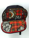 Джинсовий рюкзак Бегемотик, фото 5