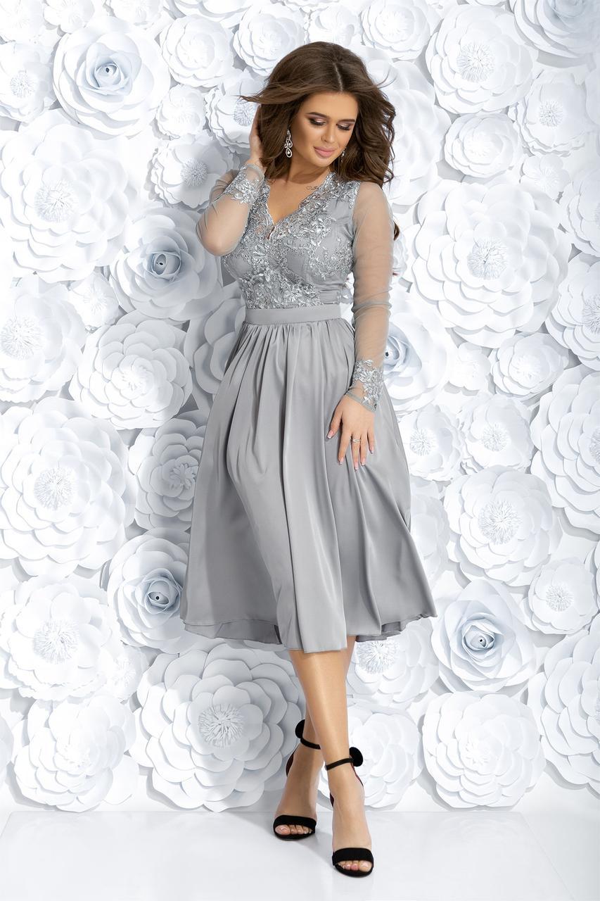 Коктейльное платье ет7256