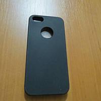 Пластиковый чехол книжка черный iPhone 5/5s