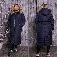 Куртка стьобаний довга, з 42 по 82 розмір, фото 1