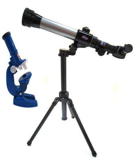 Дитячий науковий набір Мікроскоп і Телескоп