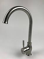 Смеситель для кухни Falanco Gerts 8101 (нерж.), фото 1