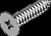 Саморез по металлу с потайной головкой, крест. шлиц ГОСТ 11652-80