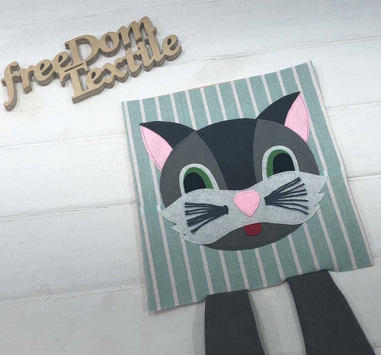 """Задание для фетровой книжки """"Кот"""""""