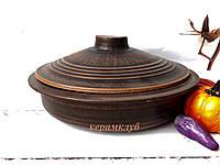 Сковорода из красной глины 2 л, фото 1