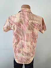Рубашка мужская летняя коттоновая  высокого качества GELIX, Турция, фото 3