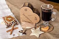 Подарочный набор смеси специй для Глинтвейна. Подарок на День Святого Валентина.