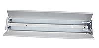 Трассовый светильник открытый для светодиодных ламп Т8 G13  2*1,2м СПВ-02-1200
