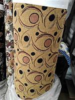 Ткань мебельная декоративная гобелен (150) Круги